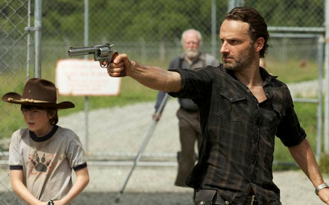 Andrew Lincoln Playing Rick Grimes