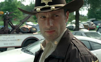 sheriff rick grimes - The Unlikely Heroics of Andrew Lincoln