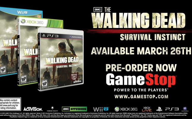 survival instinct preorder - Survival Instinct Pre-order Bonus and New Trailer Released