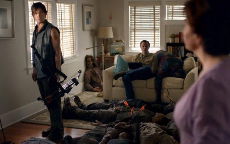 the walking dead super bowl commercial twc 790x494 - The Walking Dead Super Bowl Commercial - Featuring Daryl Dixon