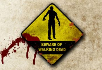 "walking dead beware 349x240 - Tips on Hosting a ""Killer"" Walking Dead Zombie Party"