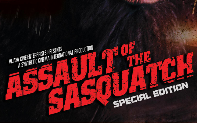 assault of the sasquatch dvd cover artwork - Casting Call for Synthetic Cinema Horror Movies in Hartford