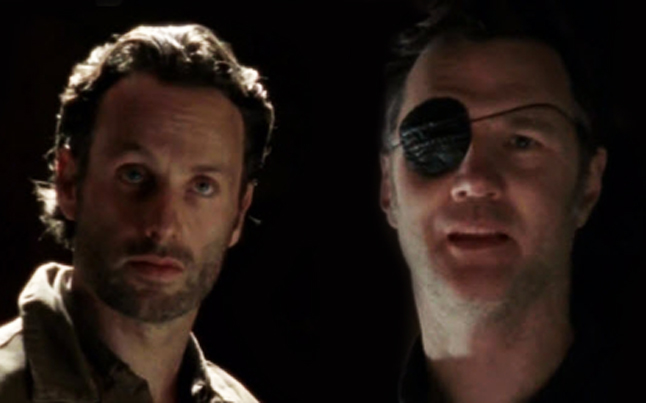 Rick Grimes and The Governor