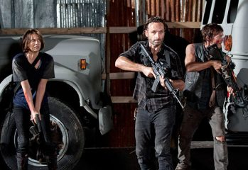 the walking dead 349x240 - The Walking Dead Terrorizes Television with Political Incorrectness and Violence