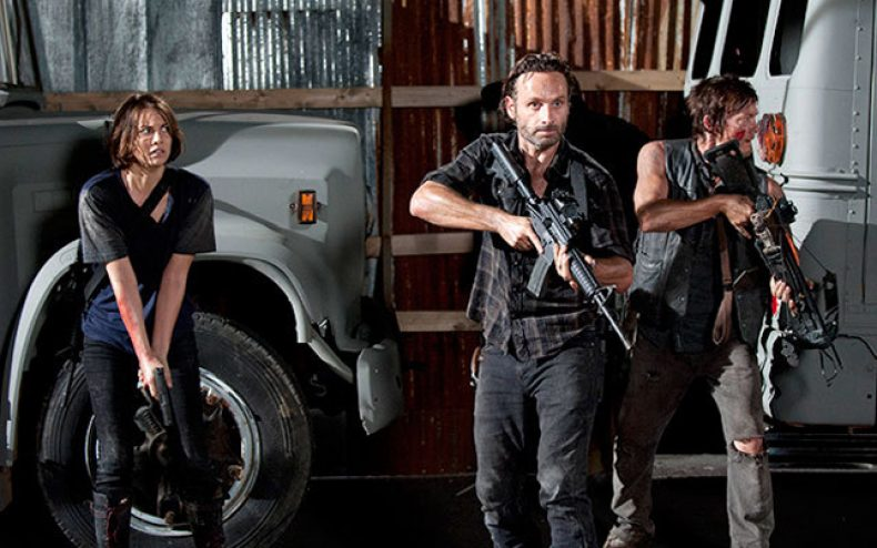 the walking dead 790x494 - The Walking Dead Terrorizes Television with Political Incorrectness and Violence