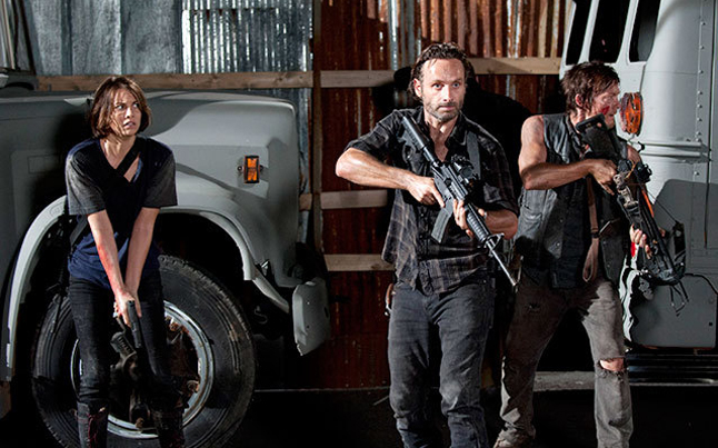 the walking dead - The Walking Dead Terrorizes Television with Political Incorrectness and Violence