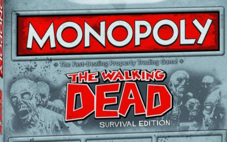 walking dead monopoly 790x494 - The Walking Dead Monopoly and Risk Game Coming Soon