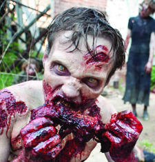 zombie walking dead - The Walking Dead Terrorizes Television with Political Incorrectness and Violence