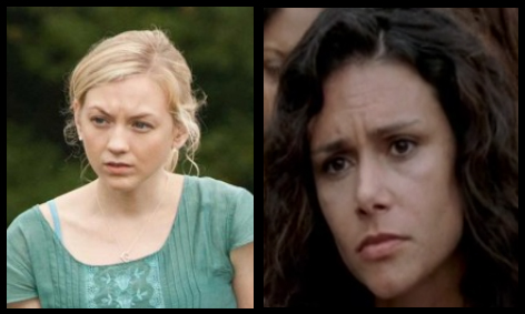 beth karen - The Walking Dead Gets Three New Regulars For Season 4