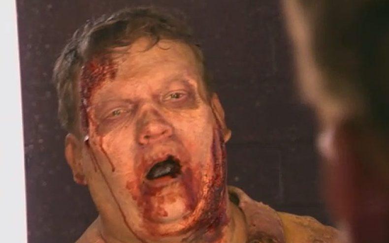 conan o brien andy richter walking dead 790x494 - Video: Zombie Andy Richter Tours Atlanta