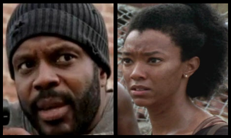 Tyreese and Sasha