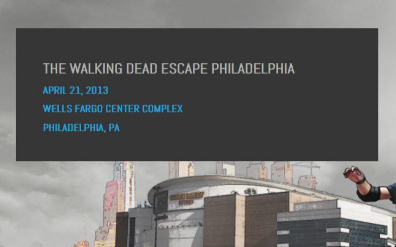 walking dead escape philadelphia 790x494 - The Walking Dead Escape In Philadelphia This Sunday