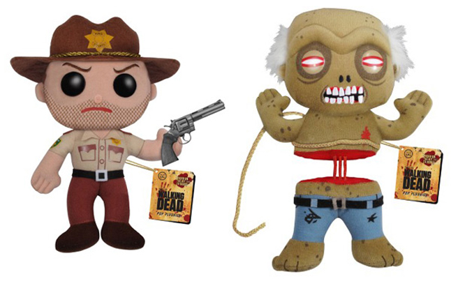 walking dead plush toys - Walking Dead Plush Toys Coming This Summer