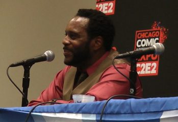 c2e2 2013 zombie talk with chad coleman part 1 349x240 - C2E2 2013: Video – Zombie Talk with The Walking Dead's Chad Coleman – Part 4 of 4