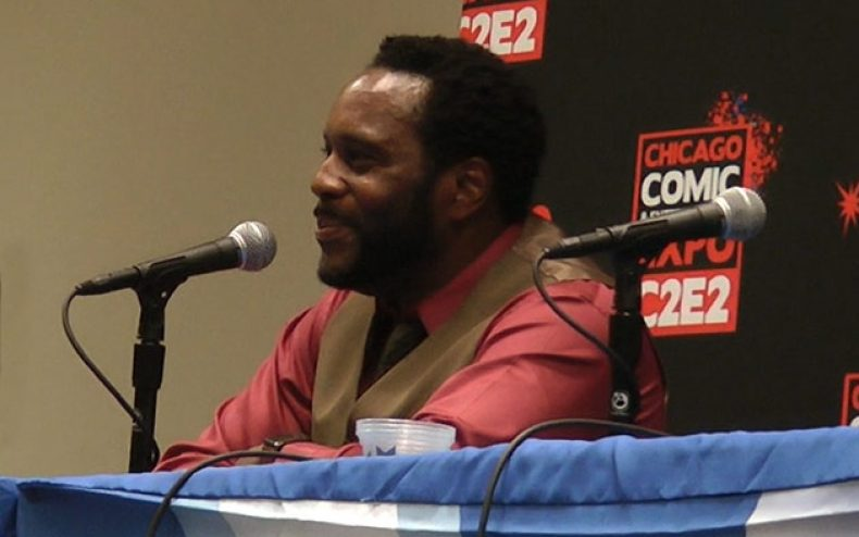 c2e2 2013 zombie talk with chad coleman part 1 790x494 - C2E2 2013: Video – Zombie Talk with The Walking Dead's Chad Coleman – Part 3 of 4