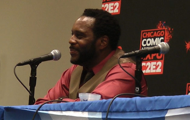 c2e2 2013 zombie talk with chad coleman part 1 - C2E2 2013: Video – Zombie Talk with The Walking Dead's Chad Coleman – Part 3 of 4