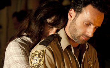 Lori Grimes and Rick