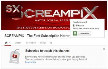 Screampix from YouTube