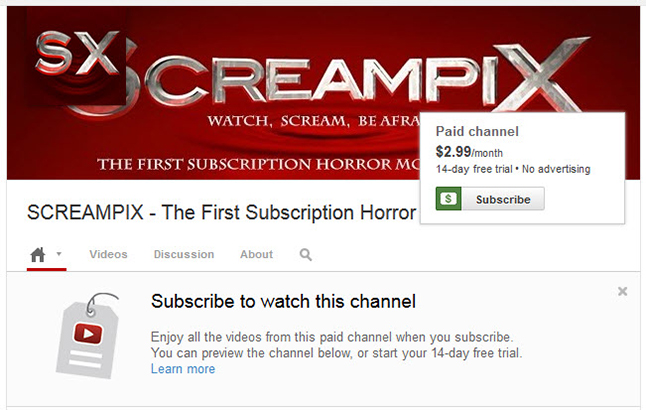Screampix from YouTube