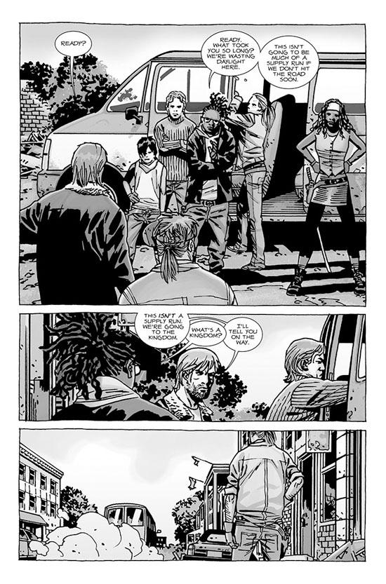 walking dead 110 4 - The Walking Dead Comic Number 110 Preview