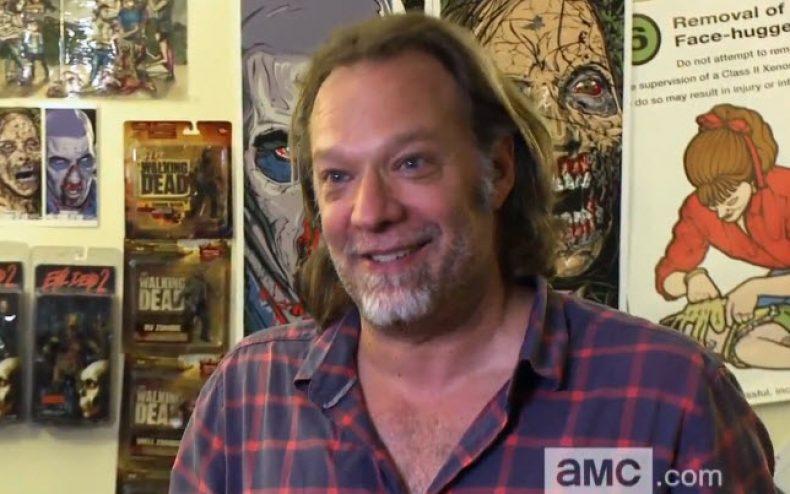 greg nicotero season 4 790x494 - Greg Nicotero Directing The Walking Dead Season 4 Premiere
