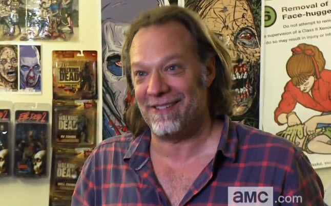 greg nicotero season 4 - Greg Nicotero Directing The Walking Dead Season 4 Premiere