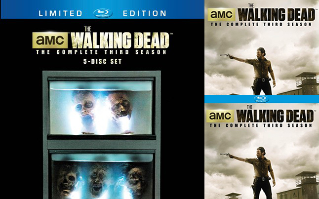 The Walking Dead Blu-ray Set