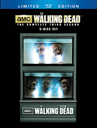 The Walking Dead Zombie Head Set
