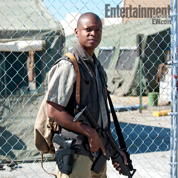 bob stokey - The Walking Dead Season 4 First Look at New Character Bob Stookey