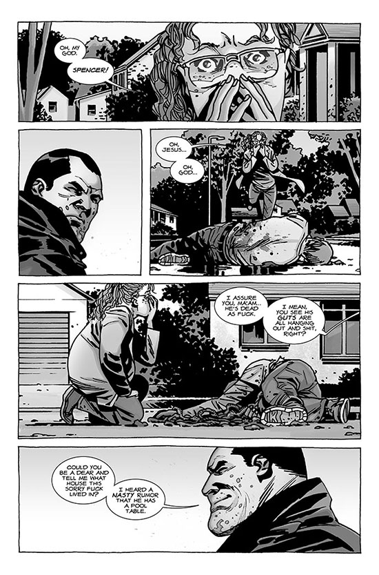 comic 112 page 1 - The Walking Dead Comic Issue 112 Preview