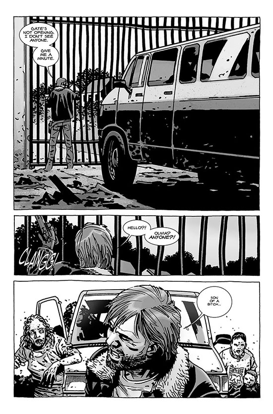 comic 112 page 2 - The Walking Dead Comic Issue 112 Preview