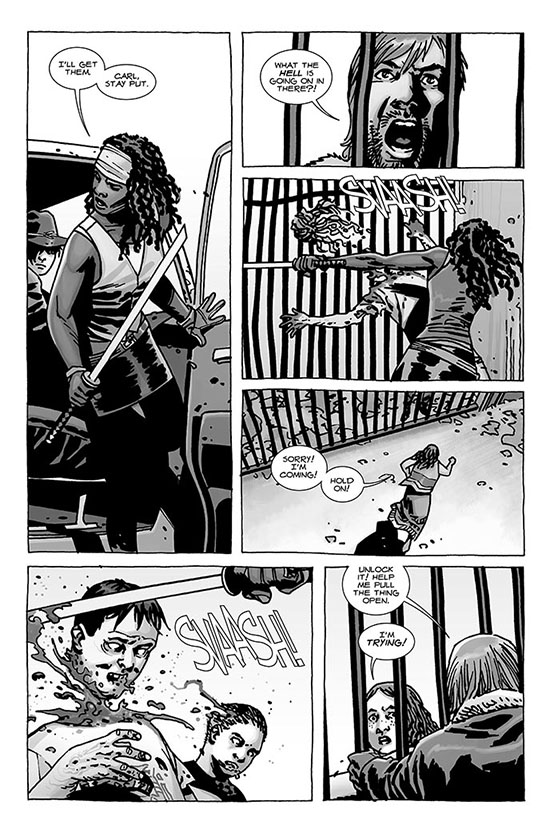 comic 112 page 3 - The Walking Dead Comic Issue 112 Preview