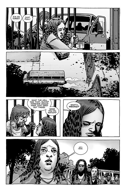 comic 112 page 4 - The Walking Dead Comic Issue 112 Preview