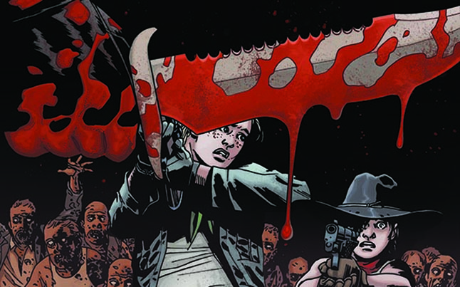 The Walking Dead Comic Issue 112 Cover