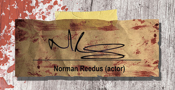 Norman Reedus Signature