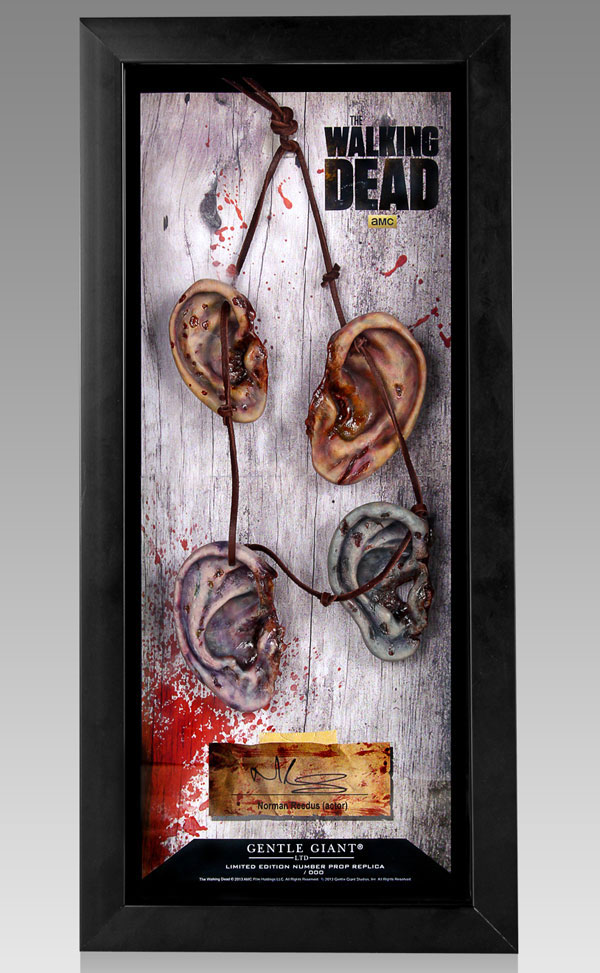 daryl dixon walker ears - Daryl Dixon Walker Ears Collectible Display Case