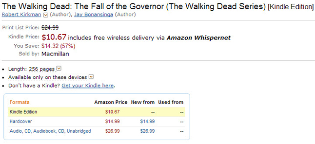 fall of the governor amazon - The Fall Of The Governor Will Be Released On October 8th