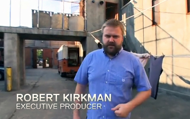 robert kirkman - Robert Kirkman Tour Of The Walking Dead Season 4 Prison