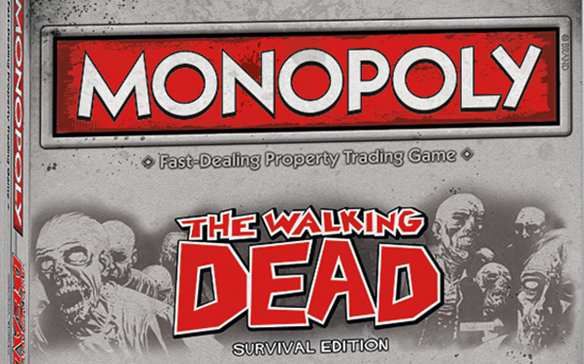 the walking dead monopoly game - The Walking Dead Monopoly Game Coming Soon By Hasbro