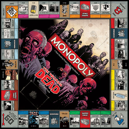 walking dead monopoly - The Walking Dead Monopoly Game Coming Soon By Hasbro