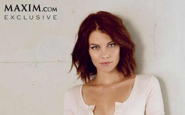Lauren Cohan Maxim Magazine
