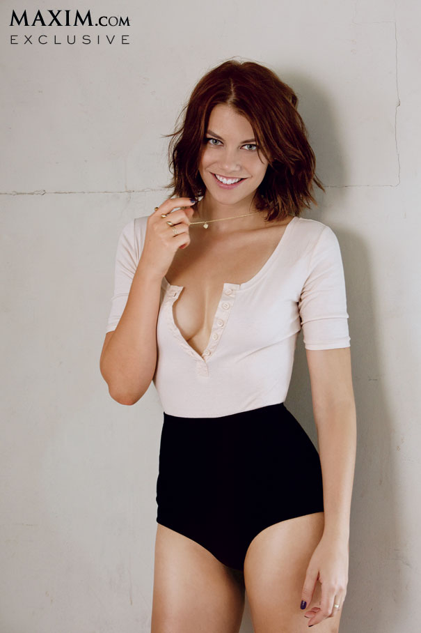 lauren cohan october maxim 3 - Lauren Cohan Appearing In October's Edition Of Maxim Magazine