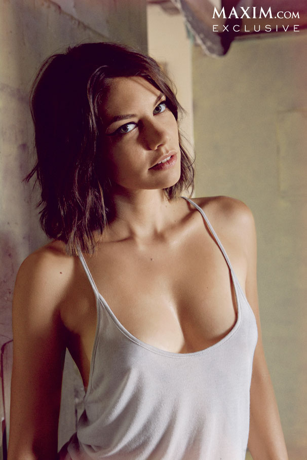 Lauren Cohan October Maxim Magazine