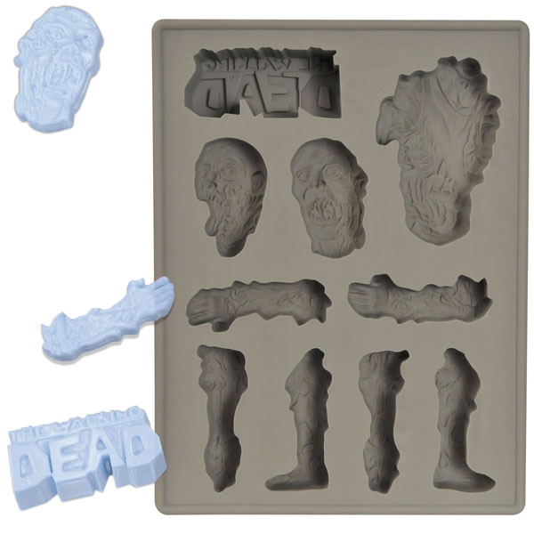 the walking dead ice cube tray - The Walking Dead Ice Cube Tray Inspired By The Comic Book Series