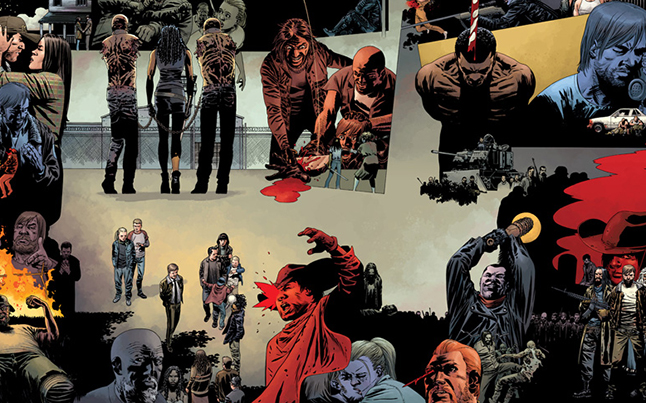 walking dead comic 115 anniversary - 10th Anniversary Walking Dead Issue Tops October Comic Sales Charts