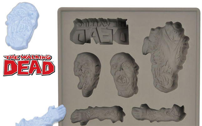 walking dead ice cube tray - The Walking Dead Ice Cube Tray Inspired By The Comic Book Series