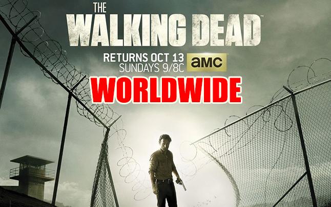 The Walking Dead Premiere Airing Worldwide