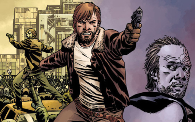 10th anniversary walking dead - 10th Anniversary Walking Dead Issue Tops October Comic Sales Charts