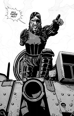 governor tank walking dead comics - The Governor Attacks The Prison In Mid-Season Finale 'Too Far Gone'