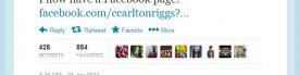 Chandler Riggs Facebook Page